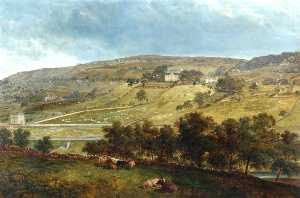 John Holland - Ewood Hall from Greenfields
