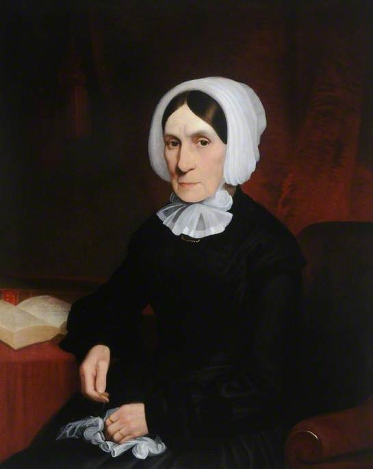 Mrs Elizabeth Spencer Stanhope (1795–1873), 1873 by Abel Hold | Oil Painting | WahooArt.com