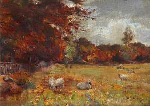 William Walls - Autumn Scene