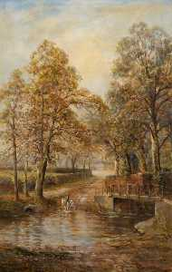 Order Museum Quality Reproductions : Weir Hall Ford by John Bonny | WahooArt.com