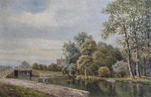 John Bonny - Stonebridge Lock, River Lea