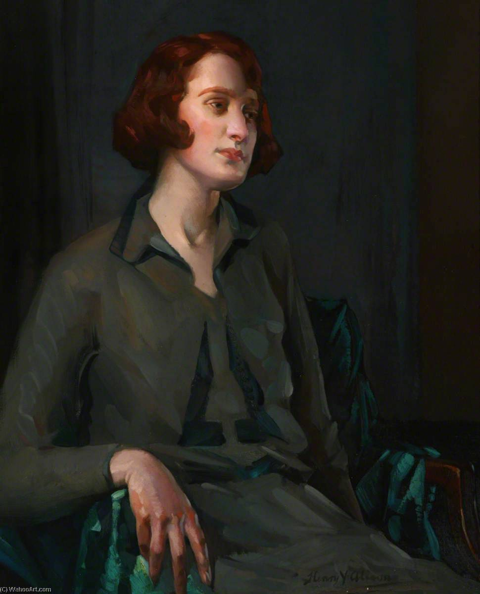 Lilly Jamieson, 1931 by Henry Young Alison | Museum Quality Reproductions | WahooArt.com