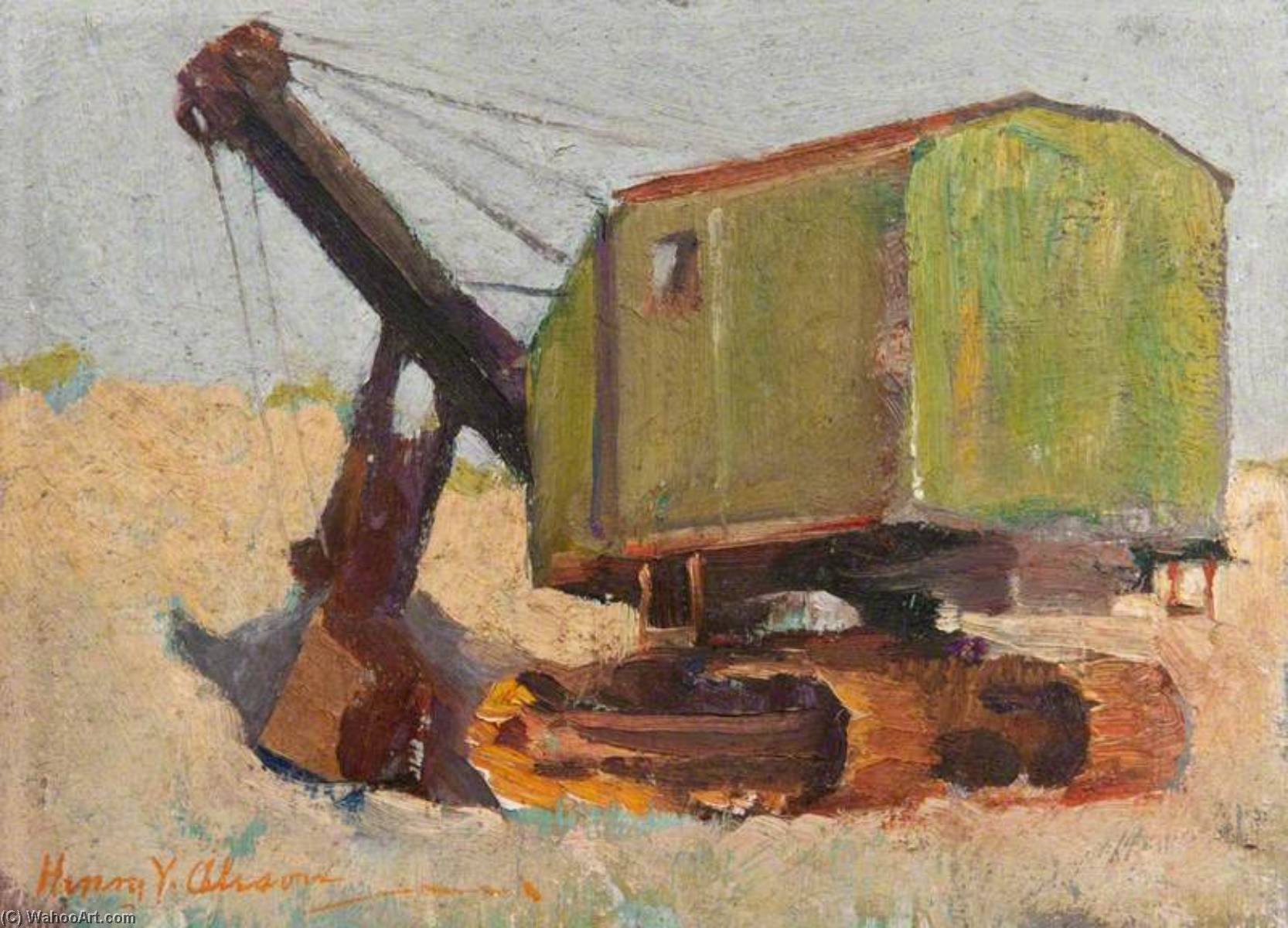 Mechanical Digger by Henry Young Alison | Famous Paintings Reproductions | WahooArt.com