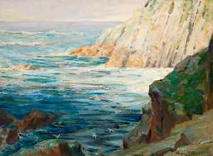 Henry Young Alison - Seascape