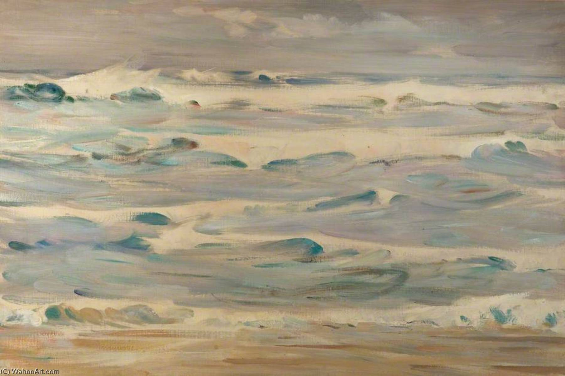 Seascape by Henry Young Alison | Museum Quality Reproductions | WahooArt.com