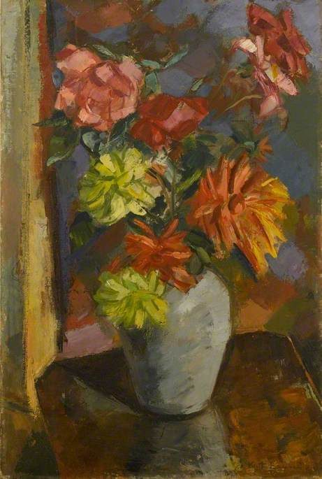Order Museum Quality Reproductions : Flowers, 1941 by Keith Baynes | WahooArt.com
