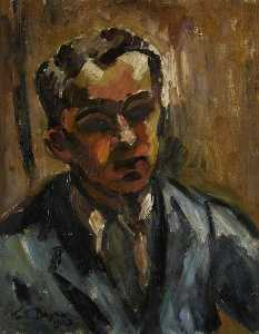 Order Museum Quality Copies | Self Portrait, 1923 by Keith Baynes | WahooArt.com