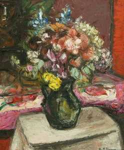 Keith Baynes - Flowers in a Jug