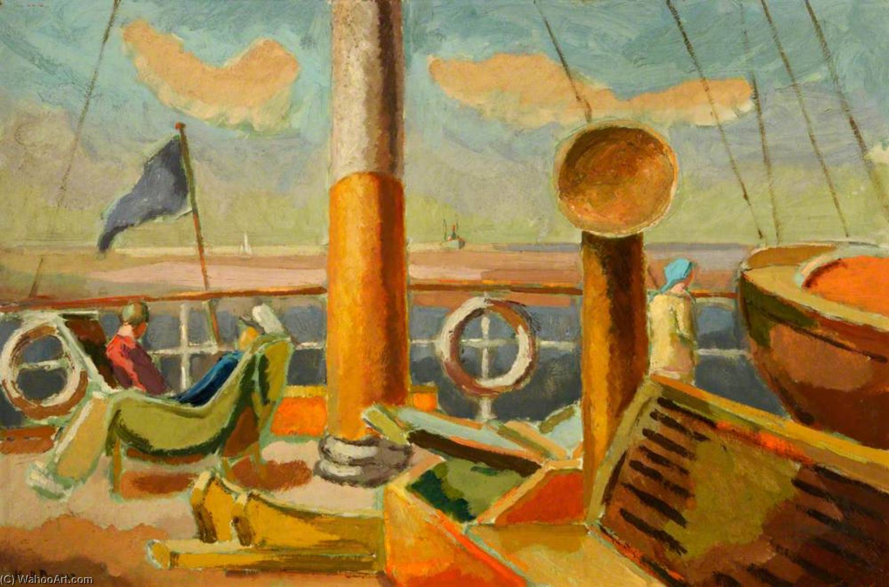 Order Oil Painting : In the Baltic by Keith Baynes | WahooArt.com