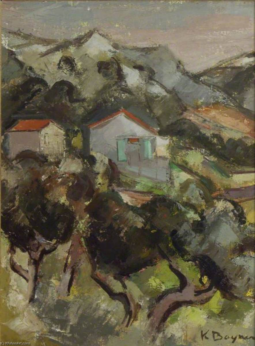 Landscape, St Clair by Keith Baynes | Art Reproductions Keith Baynes | WahooArt.com
