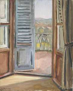 Keith Baynes - Window, Florence