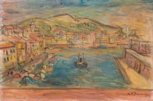 Keith Baynes - Port Vendres