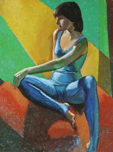 Ronald Power - Dancer in Blue