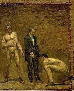 Thomas Eakins - Study for Taking the Count
