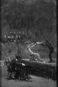 Thomas Eakins - Study for Between Rounds