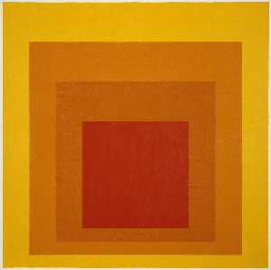 Josef Albers - Homage to the Square Glow