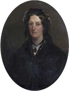 Henry Weigall - Harriet Sophia Parker (1809–1925), Countess of Morley