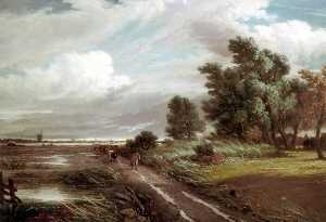 Philip Westcott - On the Marshes, Norfolk