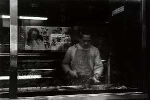 Eve Sonneman - Fish Shop (from series, Chinatown)