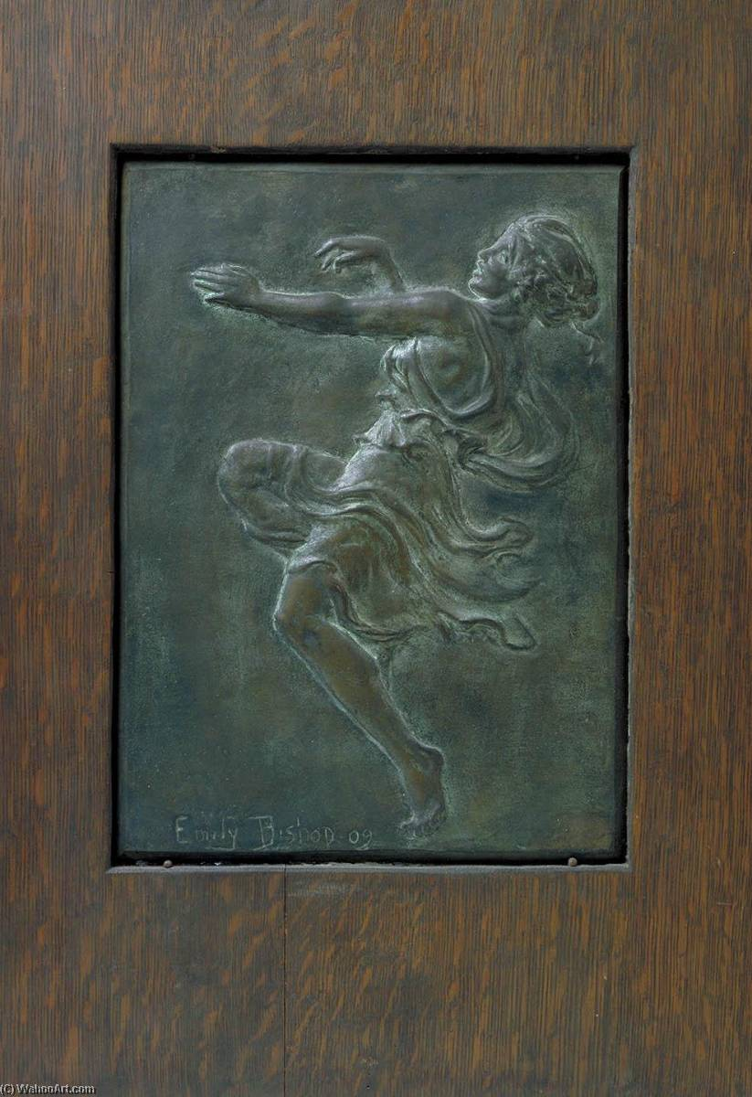 Bacchic Dancer, 1909 by Emily Clayton Bishop | Museum Quality Reproductions | WahooArt.com