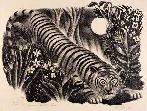 Harry Brodsky - Tiger, Tiger Burning Bright