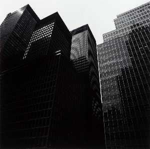 Harry Callahan - Untitled New York Skyscrapers
