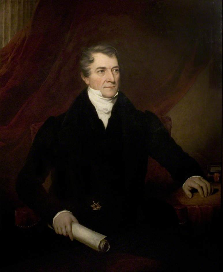 Lord Denman (1779–1854), Oil On Canvas by Thomas Barber