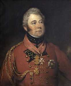 Thomas Barber - General Sir William Anson (1772–1847), 1st Bt