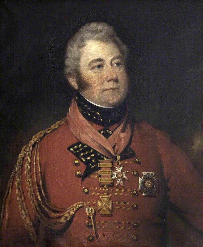 General Sir William Anson (1772–1847), 1st Bt, 1815 by Thomas Barber | Art Reproduction | WahooArt.com