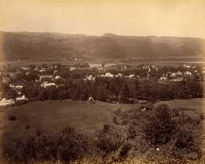 Gotthelf Pach - View North from Pavillion, from the album Views of Charlestown, New Hampshire