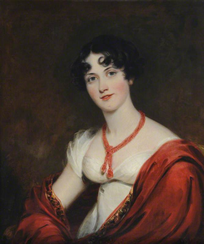 Lady Caroline Gordon (1785–1866), Lady Chesham, 1814 by Thomas Barber | Oil Painting | WahooArt.com