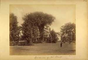 Gotthelf Pach - Residence of Mr. Alcott, from the album Views of Charlestown, New Hampshire