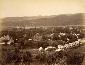 Gotthelf Pach - View West from Pavillion, from the album Views of Charlestown, New Hampshire