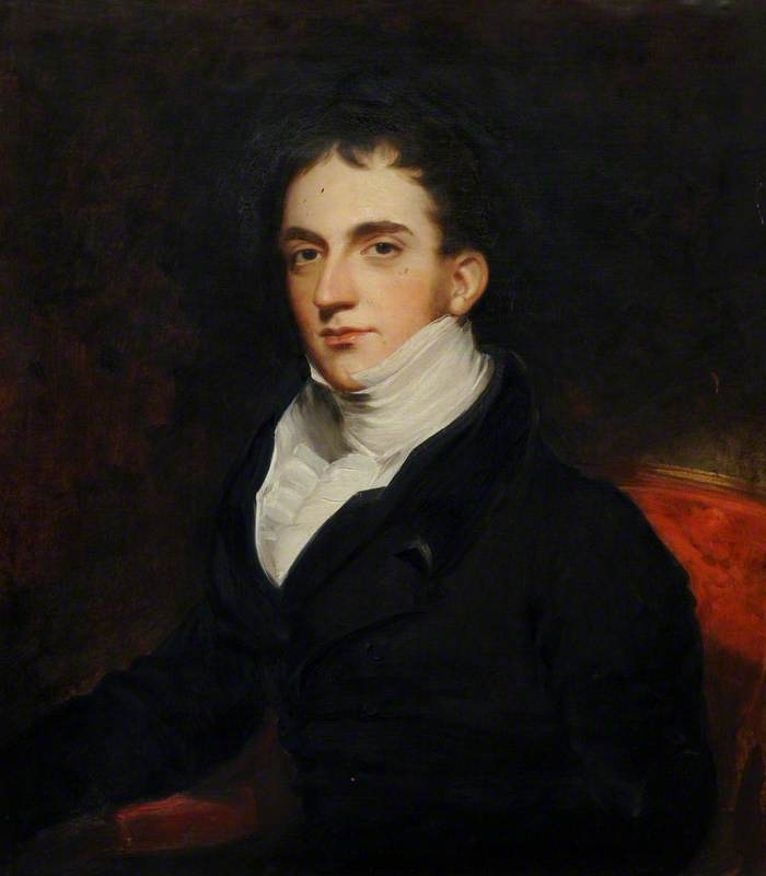 The Reverend Lewis Sneyd (c.1788–1858), Oil On Canvas by Thomas Barber