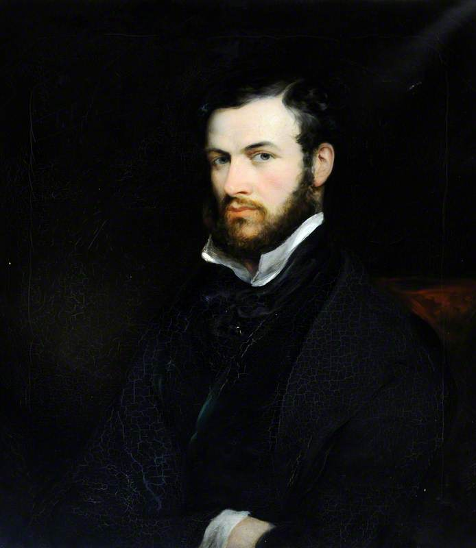 Cecil Brooke Boothby (1813–1883), Oil On Canvas by Thomas Barber
