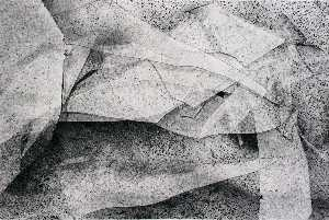 Joseph Dankowski - Untitled (Abstract folds)