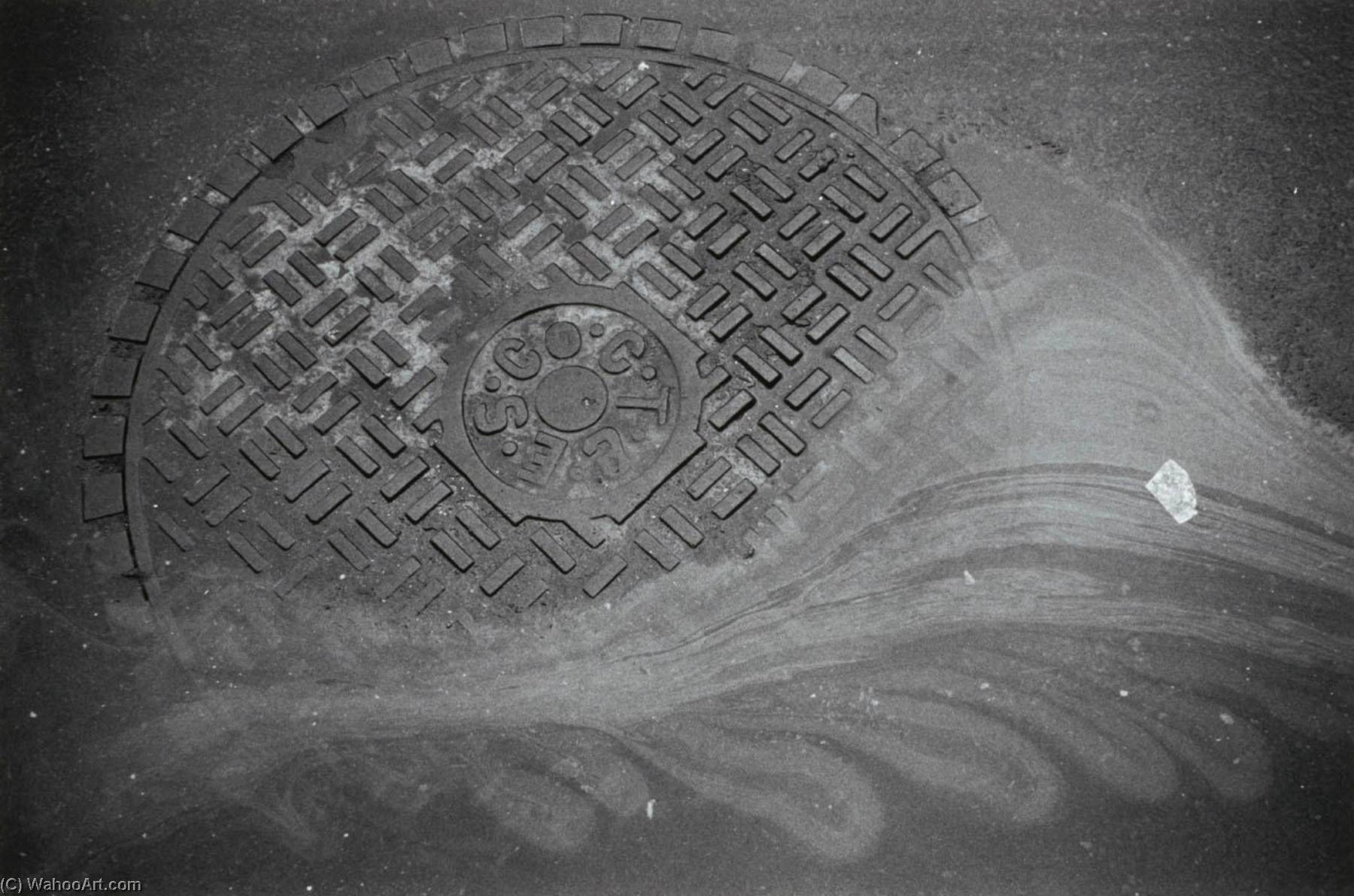 Order Art Reproductions | Untitled (Lid, ESCCT), from the series Manholes, 1971 by Joseph Dankowski | WahooArt.com