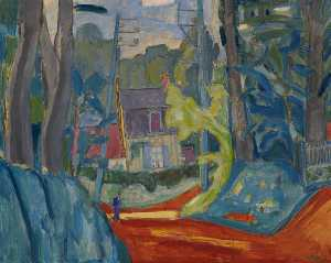 Martin Bloch - House in Normandy (or Varengeville)