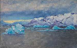 Frank Wilbert Stokes - South Point, Bowdoin Bay, Greenland, October 2, 1893