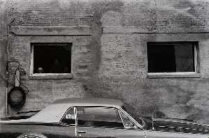 Paul Hester - Untitled (Car and 2 Windows)
