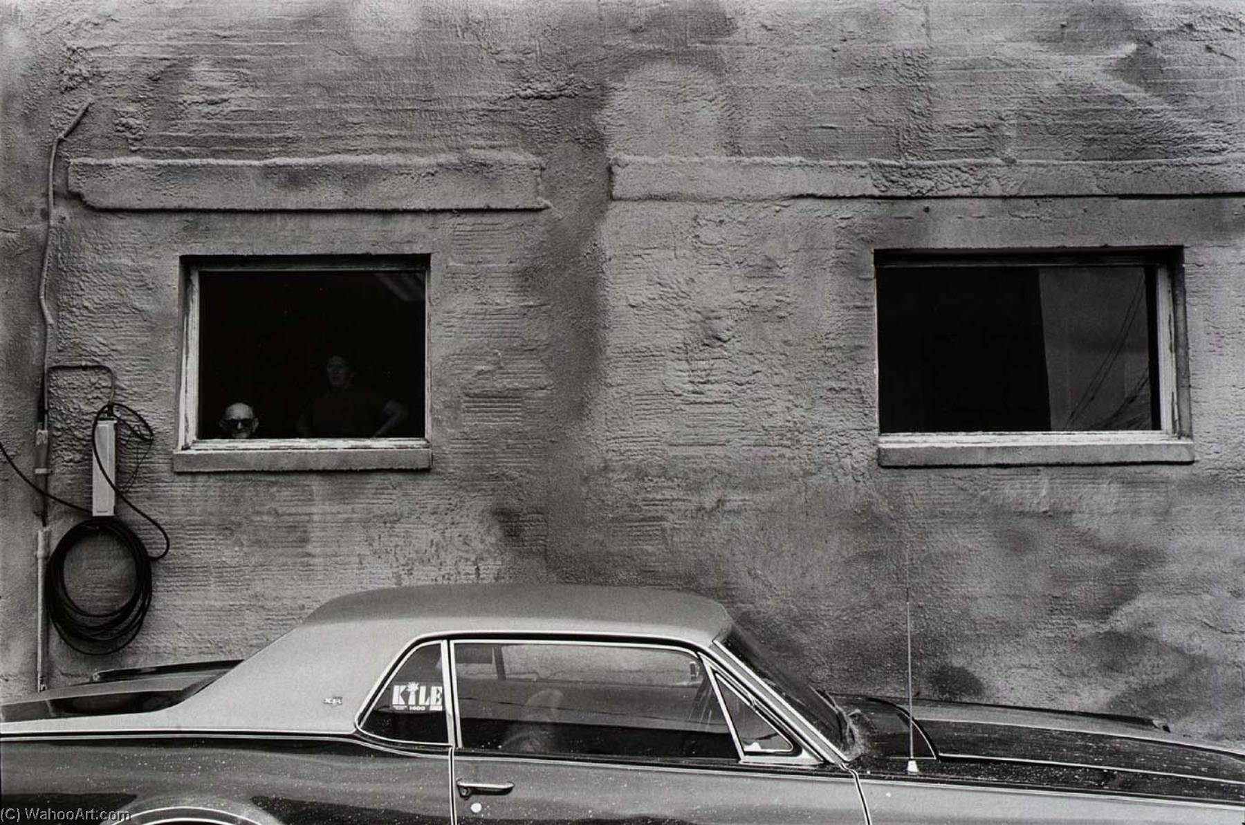 Untitled (Car and 2 Windows) by Paul Hester | WahooArt.com