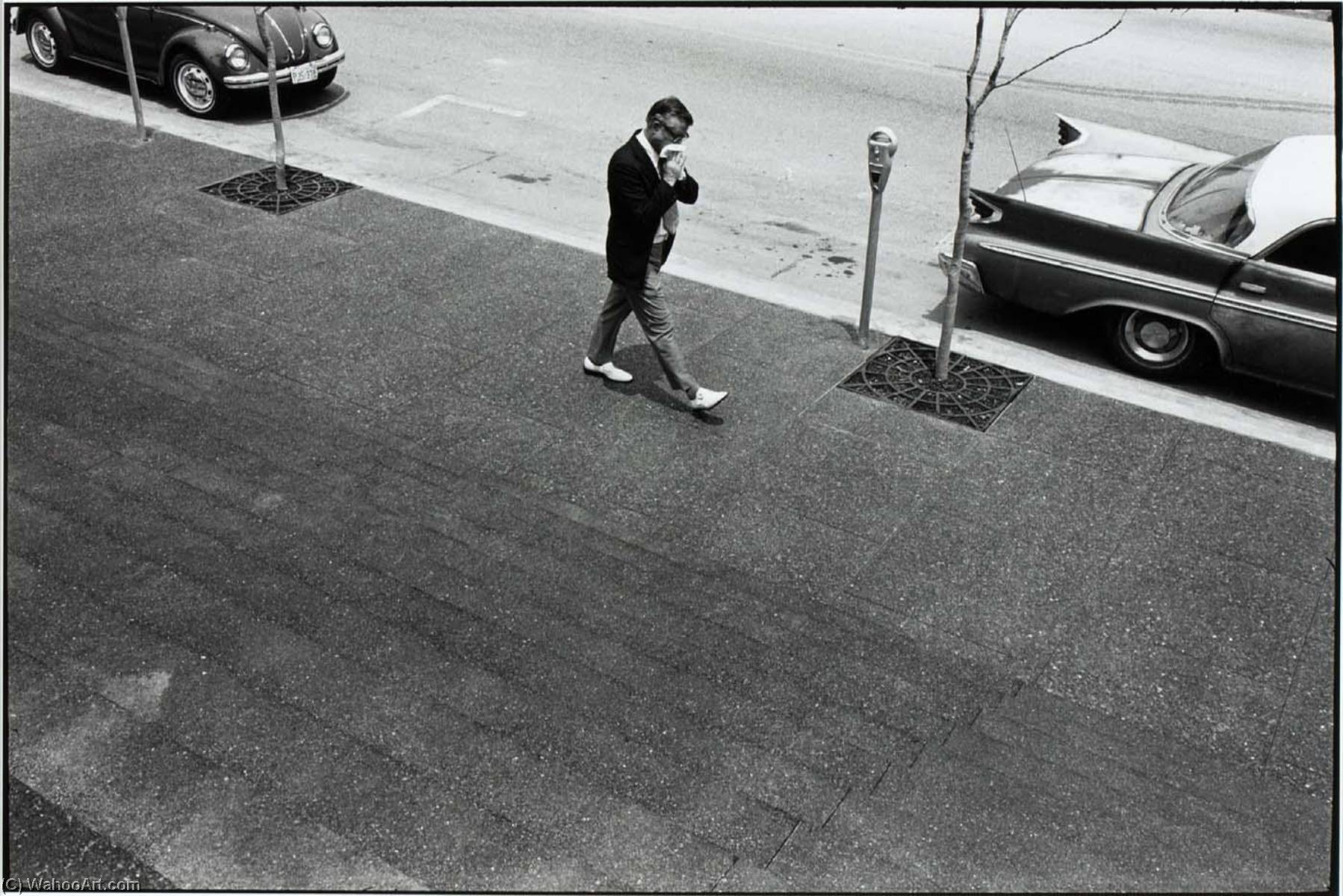 Untitled (Man and Parking Meter), Print by Paul Hester