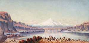 Grafton Tyler Brown - Mt. Hood, East Side, (painting)
