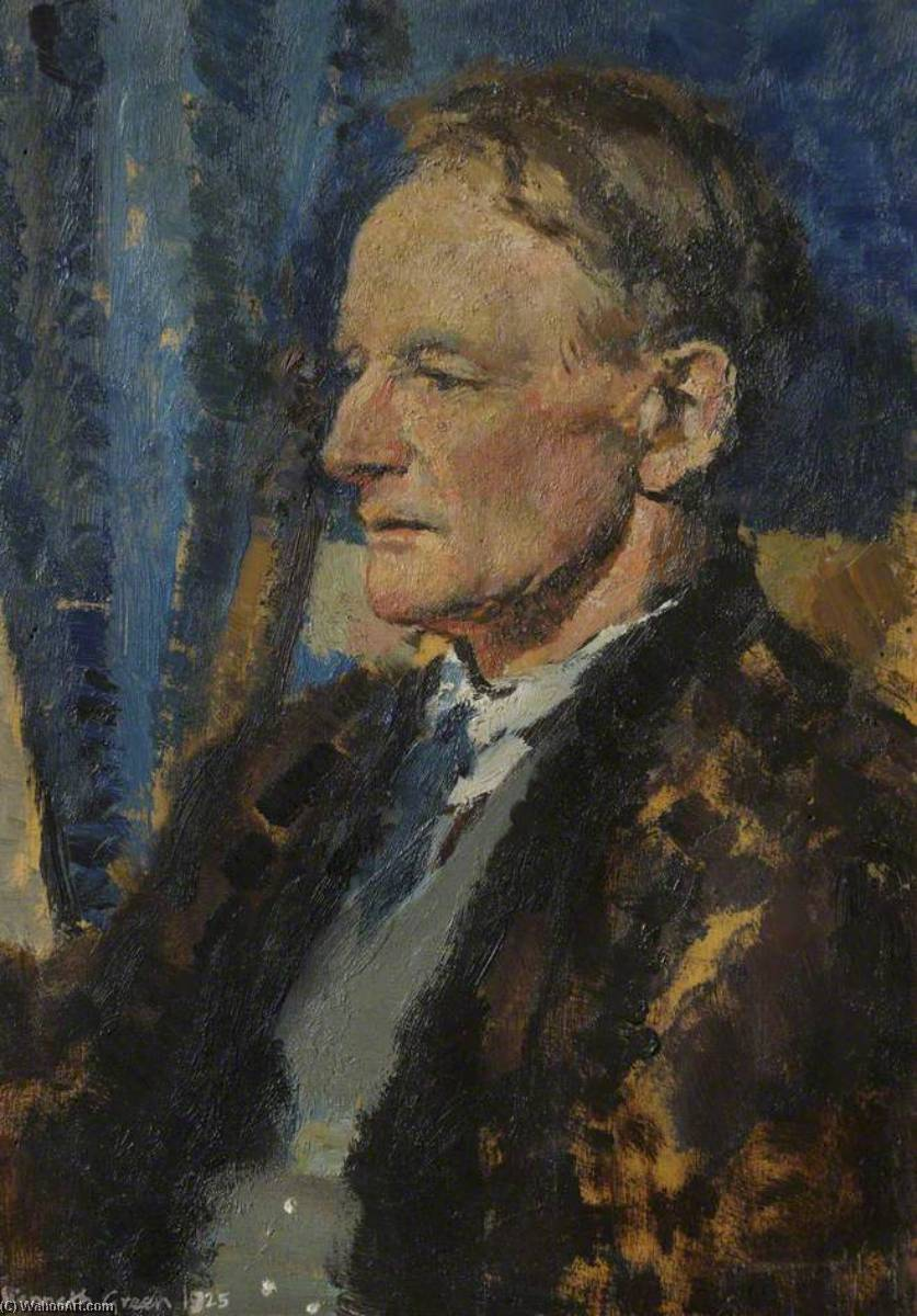 Thomas Henry Lyon (1869–1953), Architect, 1925 by Kenneth Green | Oil Painting | WahooArt.com
