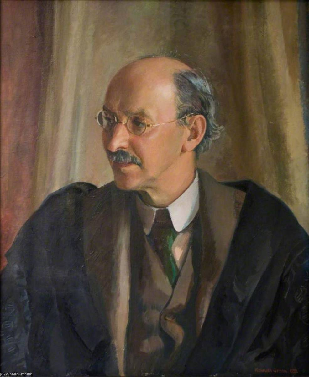 Francis Llewellyn Griffith (1862–1934), 1932 by Kenneth Green | Painting Copy | WahooArt.com