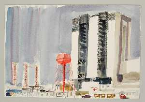 Paul Arlt - Vehicle Assembly Building Tower and Launch Pads