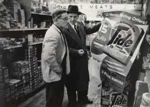 Dan Weiner - A Proctor and Gamble Salesman Visits a Food Store in New York City