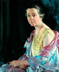William Newenham Montague Orpen - Mrs Thomas Howarth