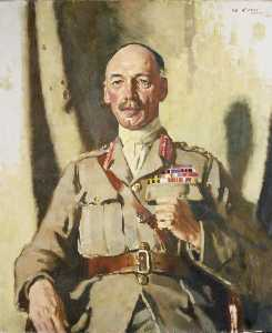 William Newenham Montague Orpen - General Sir Henry Seymour Rawlinson (1864 1925) Bt, GCVO, KCB, KCMG