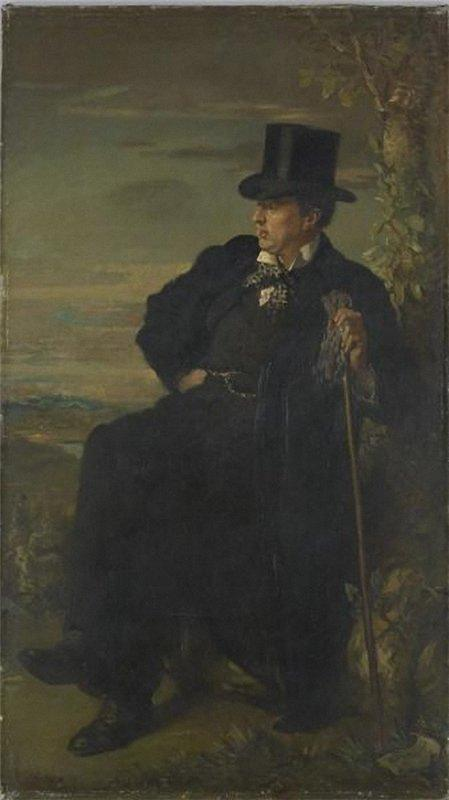 George C. Beresford, 1900 by William Newenham Montague Orpen (1878-1931, Ireland) | Painting Copy | WahooArt.com